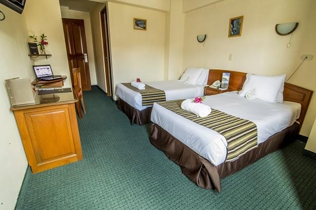 Arawi Pastoruri Hotel: Habitación doble; Habitación con 2 camas individuales