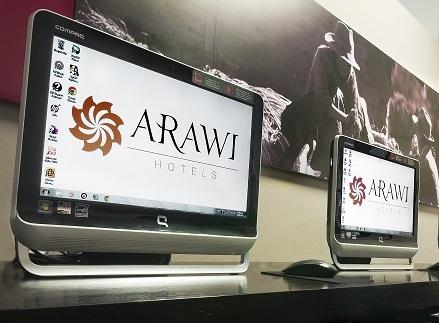 Arawi hotels Internet center